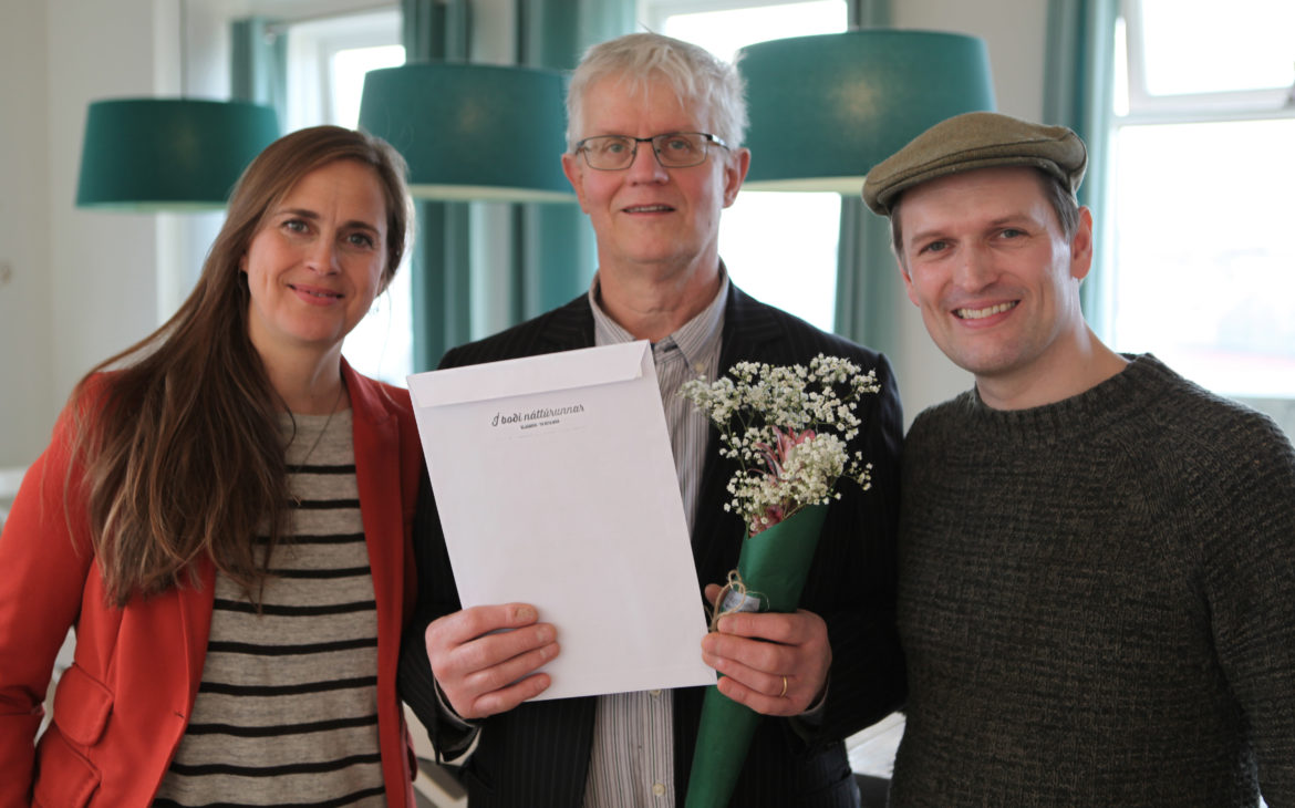 Sigfús, the owner of The Grímsbær Bread House, gets a special acknowldgement for making excellent wholewheat sourdough bread, and for being a pioneer in sourdough baking in Iceland.