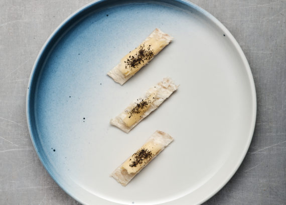 Stockfish, dulse and butter