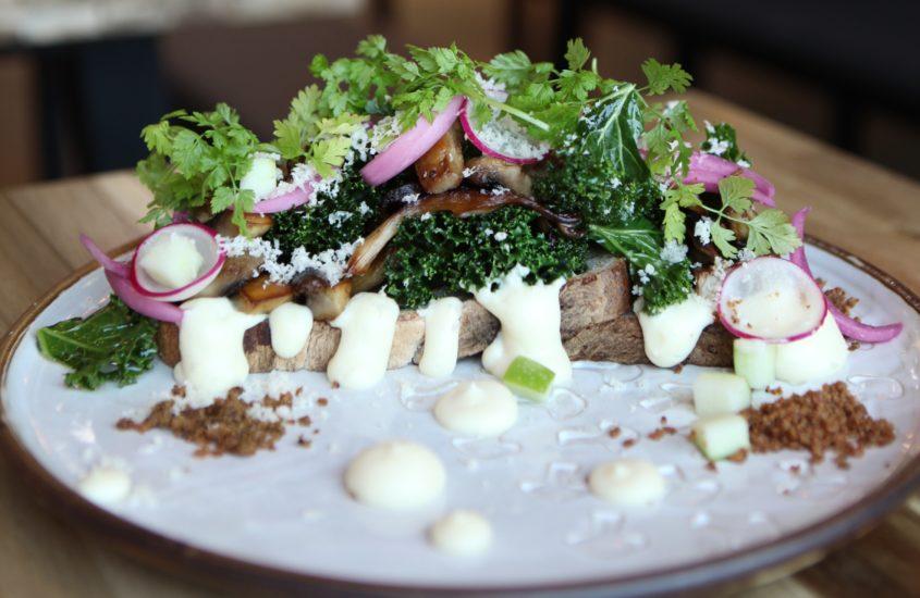 Vegetarian Mushroom Bread