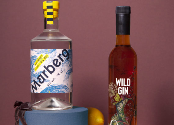Marberg gin and Wild gin from Og natura